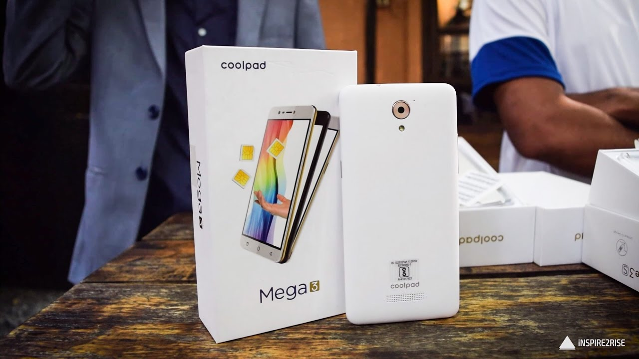 Coolpad Mega 3 hands on review w/ unboxing [COMPLETE]