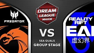 TNC vs Reality Rift RR - MEEPO! Leipzig Major DreamLeague S13 2019 SEA Highlights Dota 2