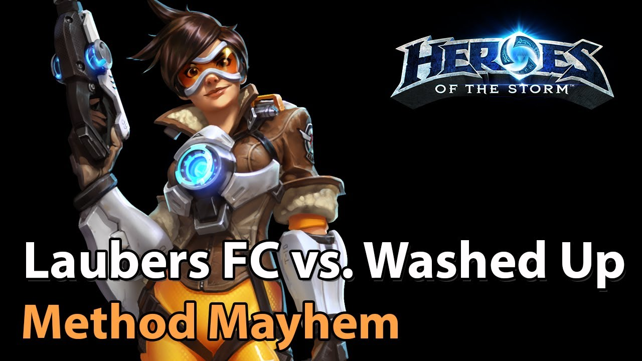 ► Washed Up vs. Laubers Fanclub - Method Mayhem Monthly Final - Heroes of the Storm Esports