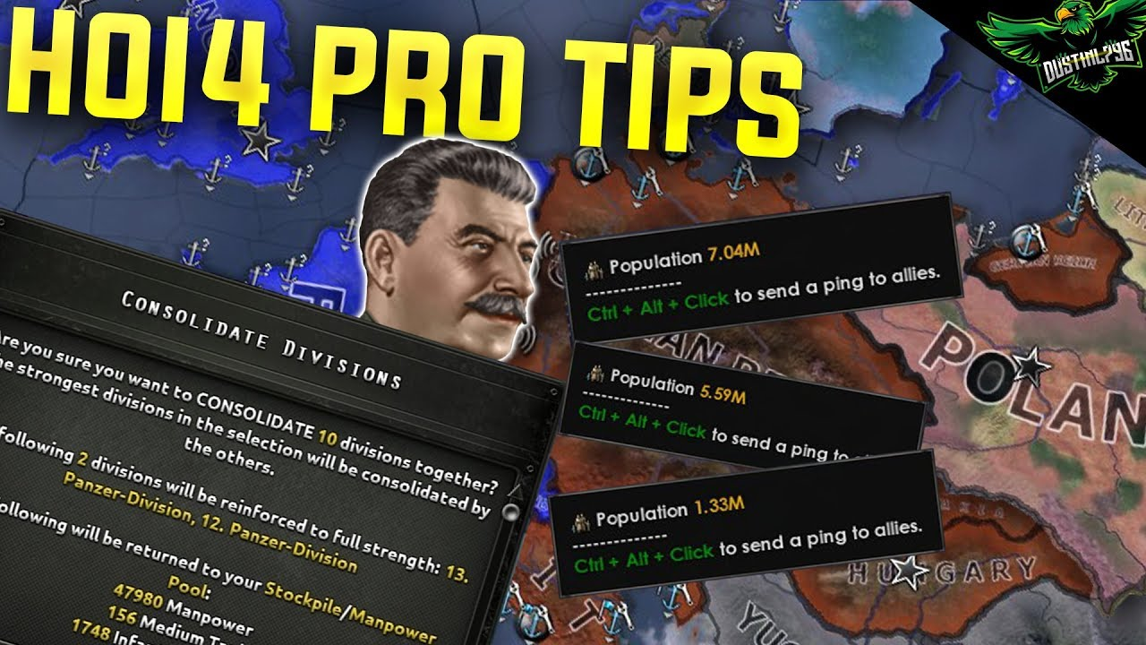 Hearts of Iron 4 Tips only Pros Know (HoI4 Man the Guns Tutorial Guide)