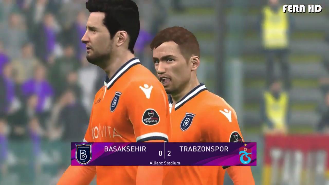 Pes 2017 Istanbul Basaksehir Vs Trabzonspor Highlights Super Lig 2019 2020 Gameplay Pc Youtube