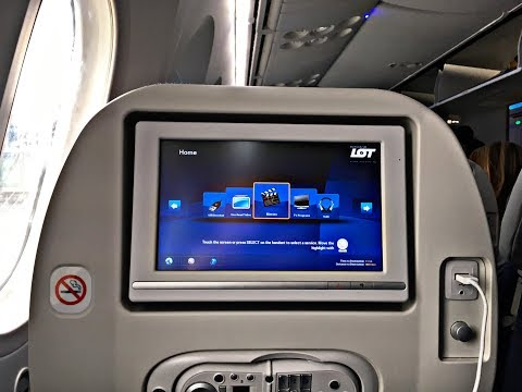 LOT Polish Airlines | 787-8 | Economy Class | Warsaw (WAW)-Los Angeles(LAX) |