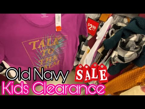 Old Navy Clearance Shopping
