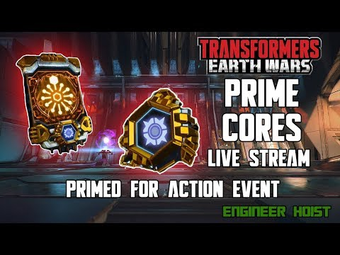 🔴 LIVE: Transformers: Earth Wars - Prime Cores