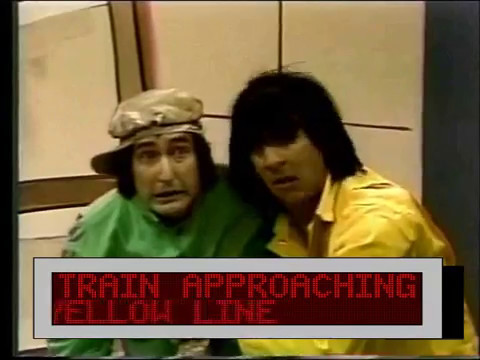Classic Sesame Street - Bob Luis and the Train (Train Approaching!!) v2