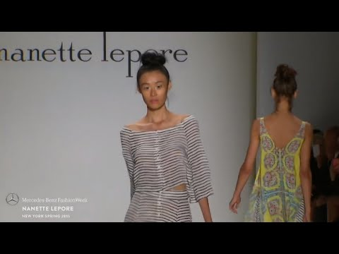 NANETTE LEPORE: MERCEDES-BENZ FASHION WEEK S/S15 COLLECTIONS
