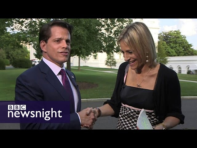 Anthony Scaramucci: First UK interview with Trump's new comms director - BBC Newsnight