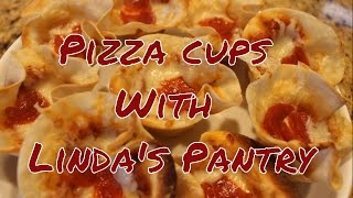 Holiday Pizza Cups