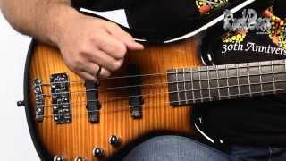 The RockBass Corvette Classic 4-String - with Andy Irvine