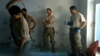 Afghan army torture prisoner as US forces look on - Truthloader