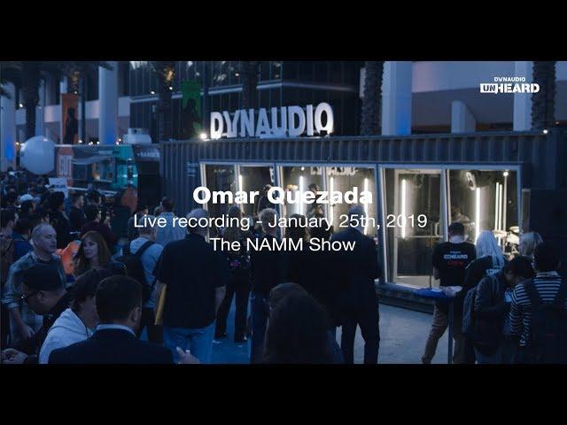 Omar Quezada - Dynaudio Unheard the NAMM Show '19