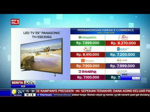 "Perbandingan Harga E-Commerce: Led TV 55"" Panasonic TH-55E306G"