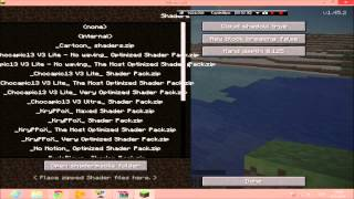 Minecraft 1.5.2 Shaders Mod Kurulum Rehberi (Minecraft 1.5.2 Shaders)