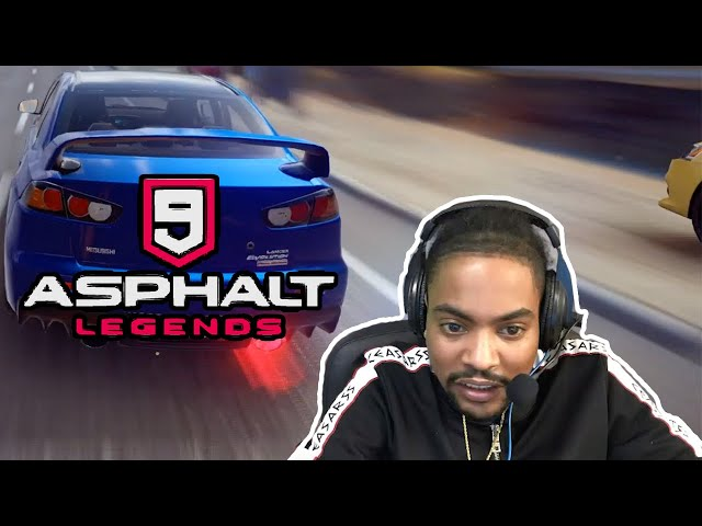 Racen met Sidney in Asphalt Legends 9