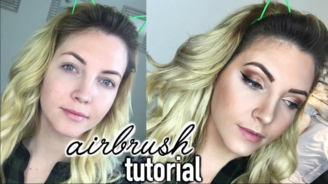Flawless Airbrush Makeup Tutorial Aeroblend Youtube