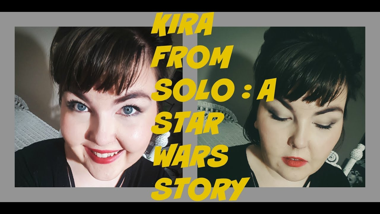 Kira from Solo: A Star Wars Story Makeup and hair tutorial!