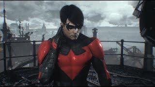 Batman: Arkham Knight (PC) - Nightwing: GCPD Lockdown (New 52 Nightwing)(Full DLC Walkthrough)