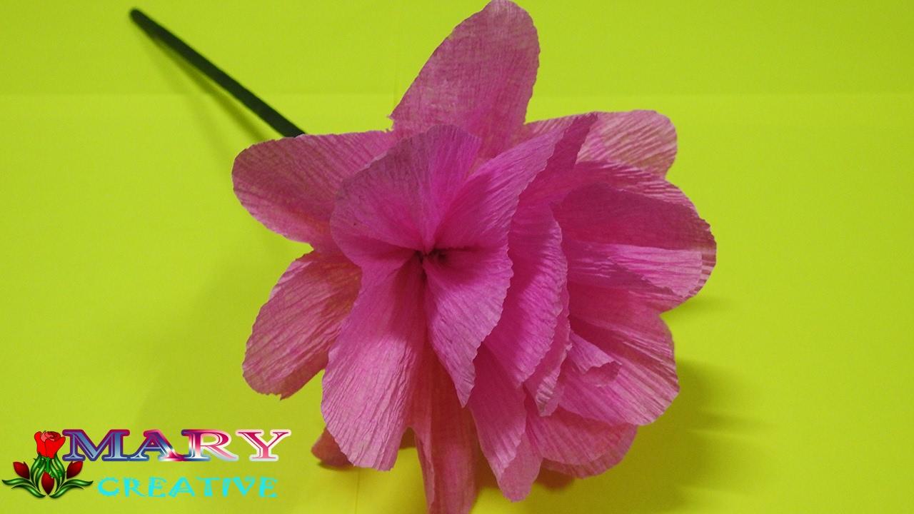 Mary creative origami flower 23 how to make pom pom flower mary creative origami flower 23 how to make pom pom flower tissue paper pom pom flowers diy mightylinksfo