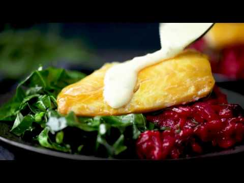 Saucy Fish Haddock And Beetroot Risotto