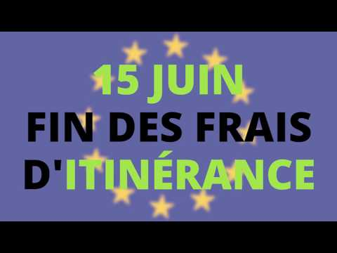 En bref : 15 juin 2017, fin des frais d'itinérance pour l'Union Européenne !