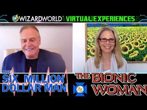 SIX MILLION DOLLAR MAN / BIONIC WOMAN Panel – Wizard World Virtual