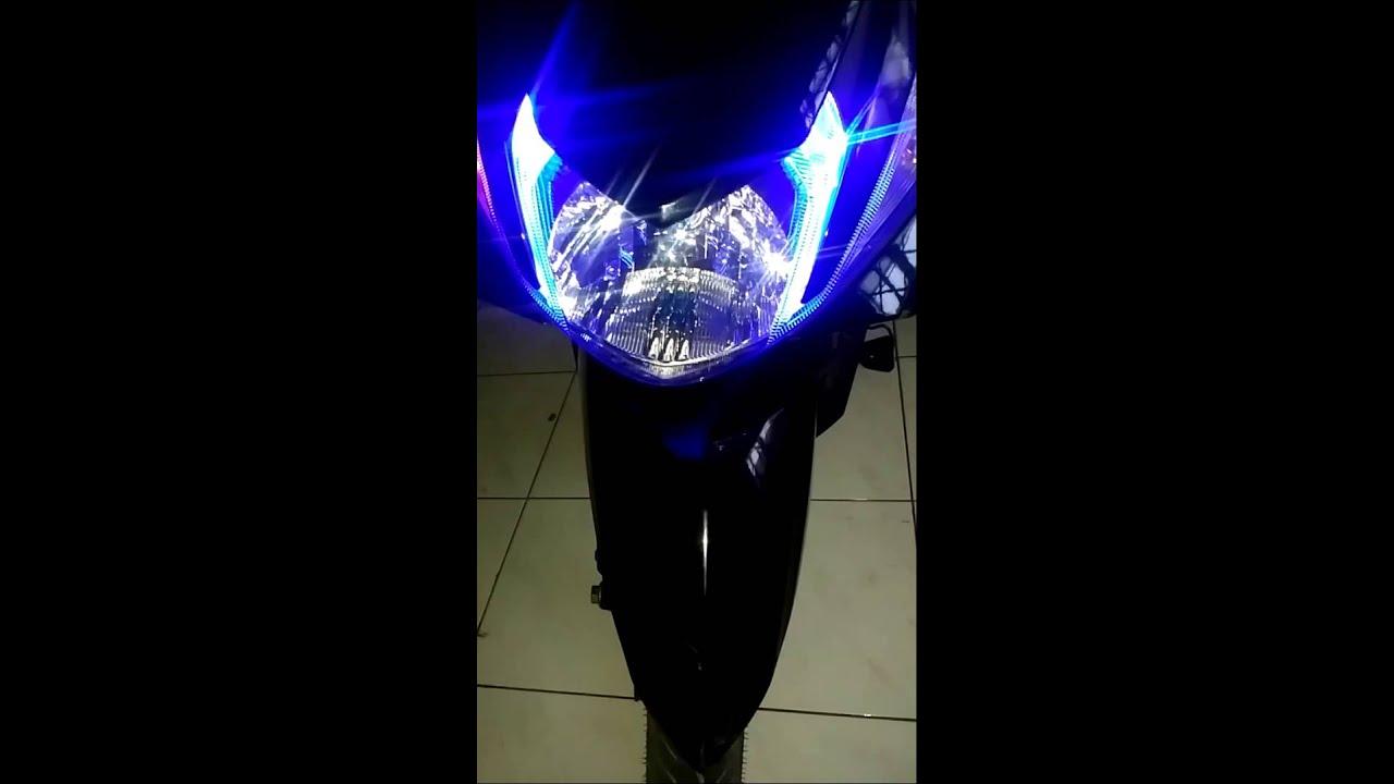 contoh modifikasi lampu mio m3