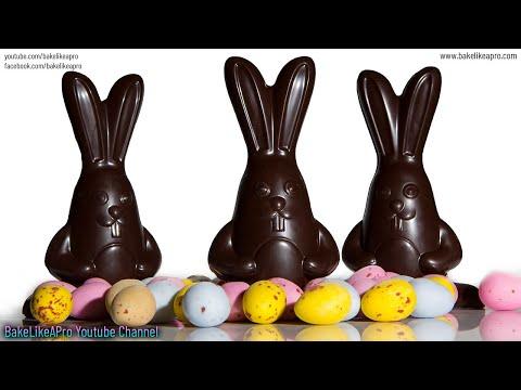 Easy 3D Chocolate Easter Bunny Tutorial