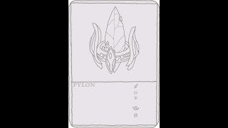 Drawing pylon from SC2