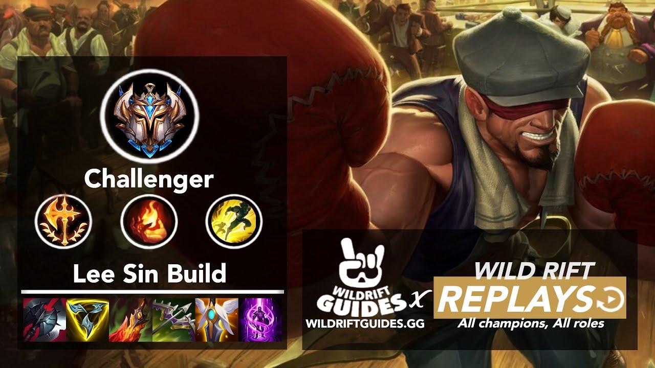 Wild Rift Lee Sin Top Challenger Ranked Gameplay