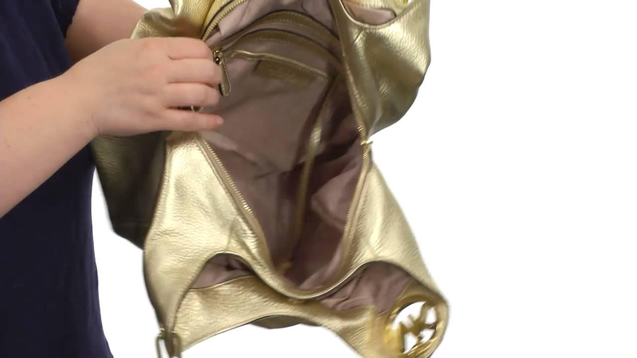 9167a6921e86ad MICHAEL Michael Kors Fulton Large Shoulder Tote SKU:#7538619 - YouTube