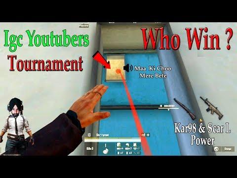 PUBG MOBILE : IGC All Youtubers Tournament Highlights ! Aakhir Kaun Jeeta ?