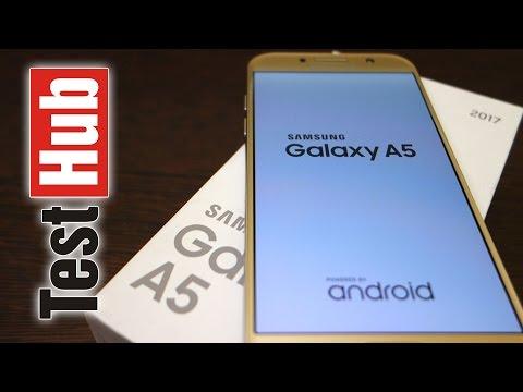 Samsung Galaxy A5 2017 - Test - Review - Recenzja - Prezentacja