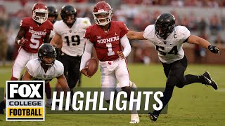 Oklahoma vs. Army | FOX COLLEGE FOOTBALL HIGHLIGHTS
