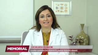 Çocuk diş bakımı nasıl yapılmalıdır? Dr. Dt. Ezel Yıldız Elmas