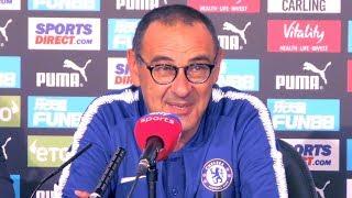 Newcastle 1-2 Chelsea - Maurizio Sarri Full Post Match Press Conference - Premier League
