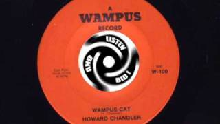 HOWARD CHANDLER Wampus cat WAMPUS Repro Soundsample