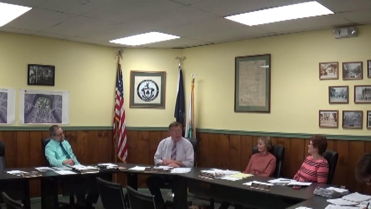 Champlain Village Board Meeting  2-12-18