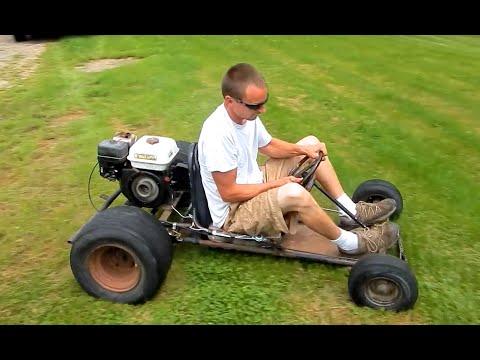 $100 Go Kart First Drive