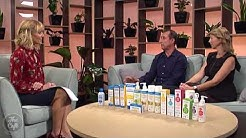 The Cafe discussing natural eczema, psoriasis and rosacea treatments