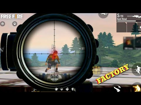 Free Fire only 550 challenge - ff factory roof gameplay/factory king tricks [Garena free fire] SAROJ