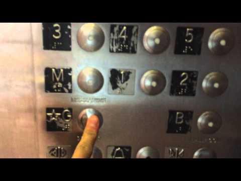 Dover Traction Elevators at Hyatt Regency Parking and Ballrooms in Waikiki, Honolulu HI