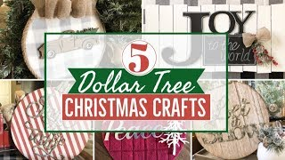 DIY DOLLAR TREE CHRISTMAS 2019 | CHRISTMAS DECOR