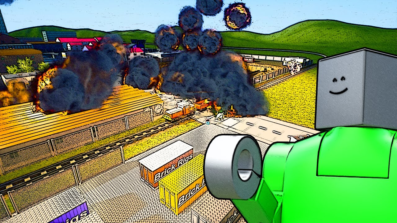 Download We Dropped a FRIENDSHIP Nuke To Stop Lego Bullying! (Brick Rigs Multiplayer Gameplay)