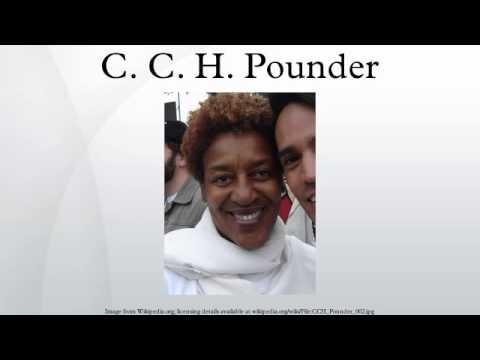 C. C. H. Pounder