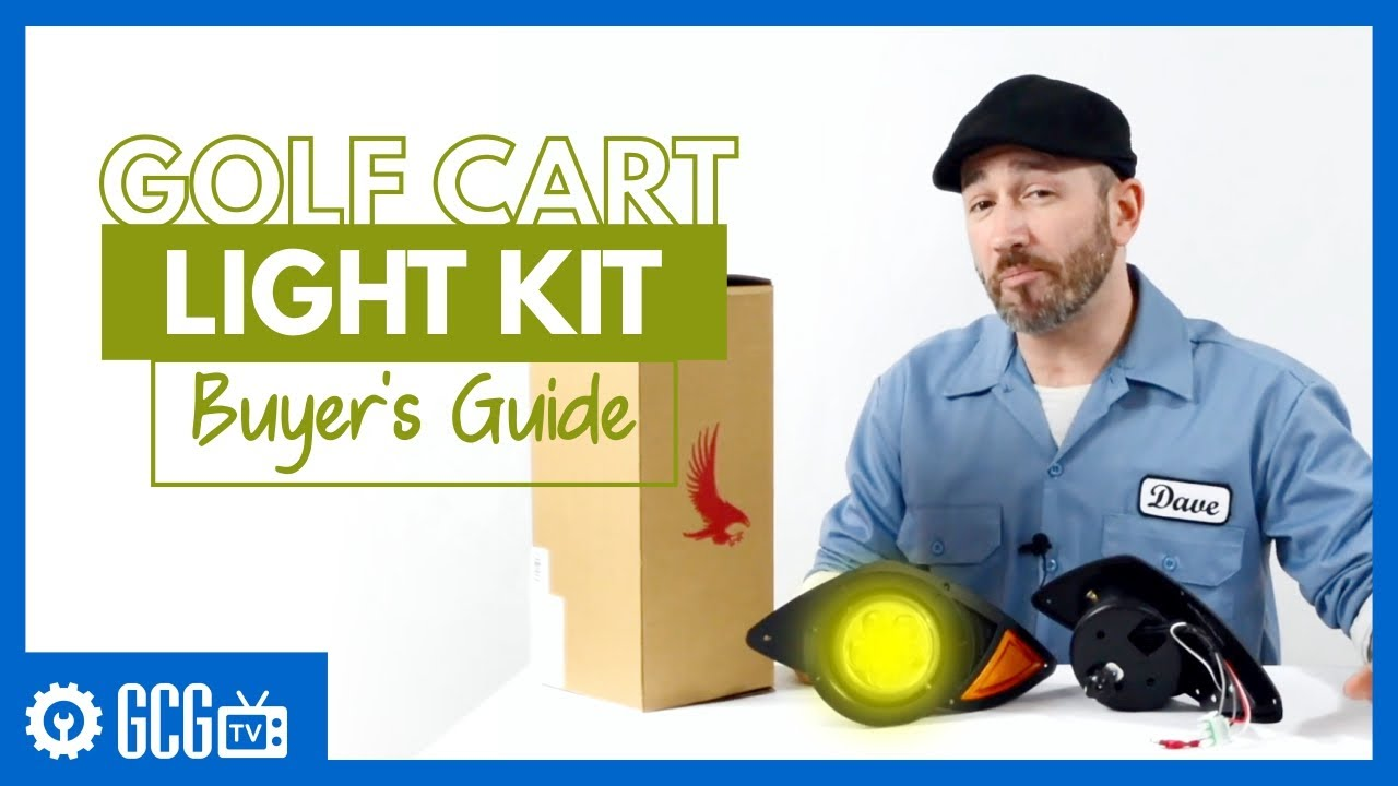 Golf Cart Lights Frequently Asked Questions (FAQ) Gas Club Car Ignition Switch Wiring Diagram on