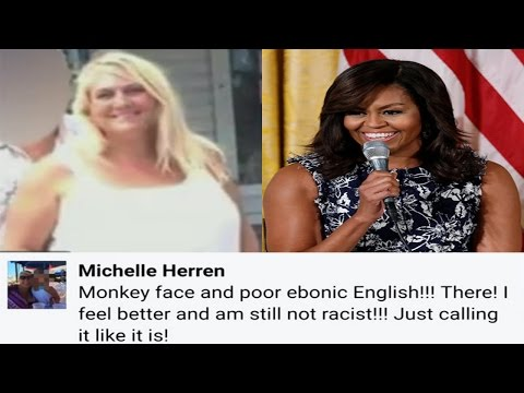"Colorado Univ Professor Calls First Lady Michelle Obama""Monkey Face""In Racist Facebook Post"