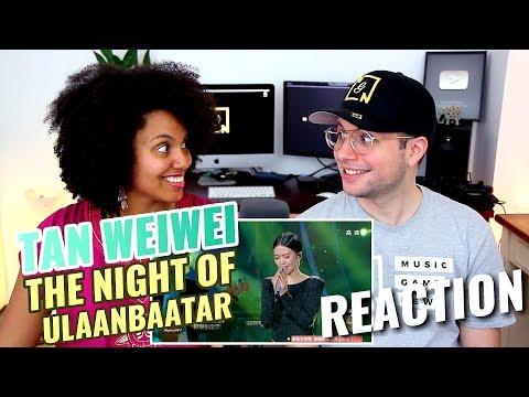 Tan Weiwei - The Night of Ulaanbaatar | The Singer 2015 | REACTION