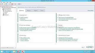 Automatic Installation of Kaspersky Endpoint Security and Network Agent on New Machines