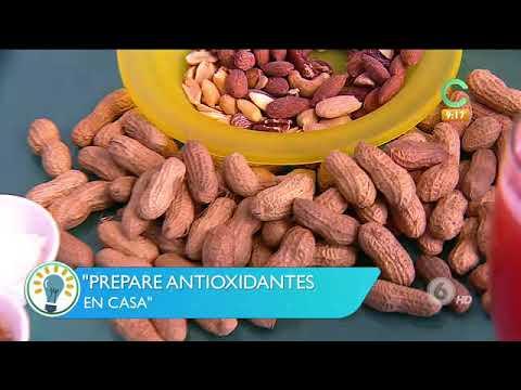 Prepare sus antioxidantes en casa