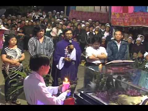 lễ an táng cha Giuse Vũ Văn Đại 10 đền thánh Sa Châu làng Gòi Giao Châu
